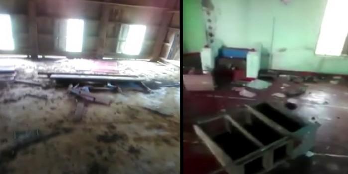 Arakan'da camilere çok çirkin saldırı