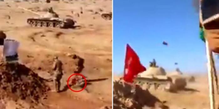 Attığımız tokadı unutamıyorlar! Türk bayrağını hedef olarak kullandılar