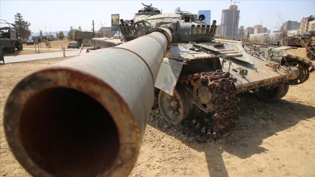 Azerbaycan, 2. Karabağ Savaşı'nda ele geçirdiği Ermenistan silahlarını