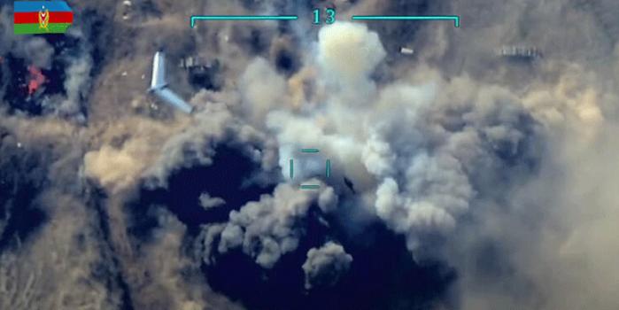 Azerbaycan Ordusu SİHA ile vurdu! İsrail yapımı drone...