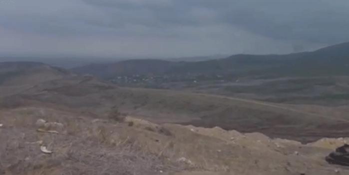 Azerbaycan'ın Ermenistan işgalinden kurtardığı bölgelerden ilk görüntüler
