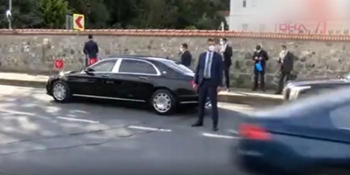 Başkan Erdoğan tesadüfen fark etti... Konvoyunu durdurdu