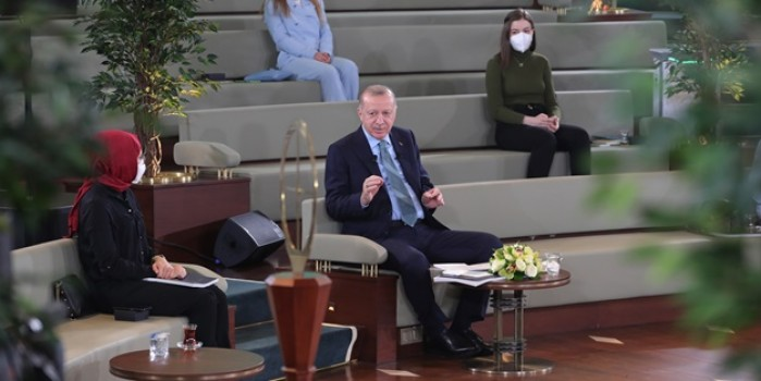 Başkan Erdoğan'dan Kanal İstanbul açıklaması