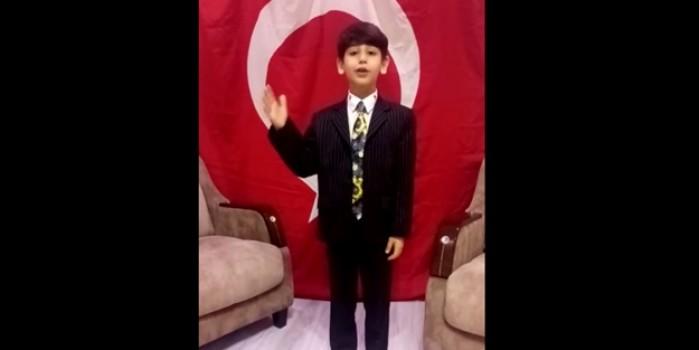 Başkan Erdoğan'ın minik adaşının Ayasofya sözleri yürekleri titretti