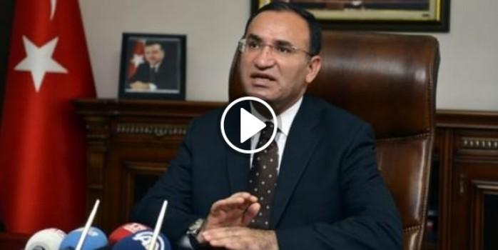 Bekir Bozdağ'dan darbeci hainlere işkence açıklaması