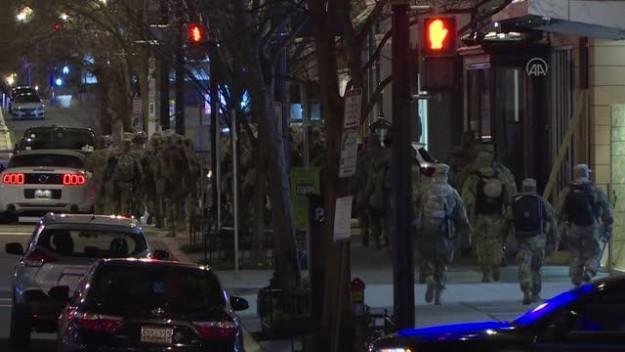 Biden'ın yemin töreni öncesi başkent Washington'daki güvenlik önlemleri artırıldı