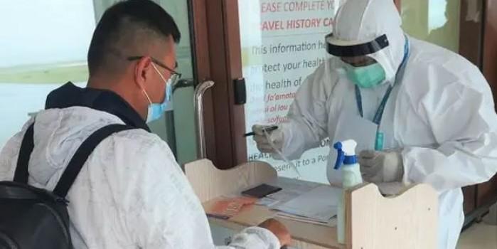 Bir ülkede ilk koronavirüs vakası görüldü