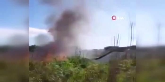 Brezilya'da futbol takımının üyelerini taşıyan uçak düştü