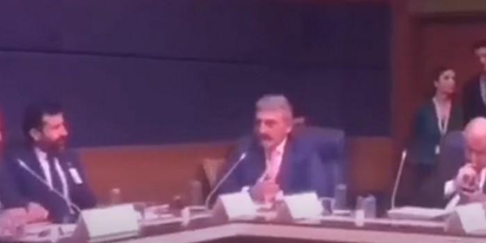 Çamlı, HDP'lilerin söylemleri karşısında çileden çıktı: Burada İsrailli vekil olsa sizden edepli davranır
