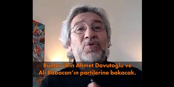 Can Dündar, beklentisini açıkladı: Ahmet Davutoğlu ve Ali Babacan...