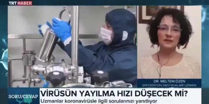 Canlı yayında hesapladı! 'Türkiye'de vaka sayısı 23 bin değil'