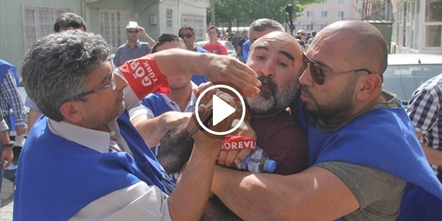 CHP'li başkana işçiden şok tepki!