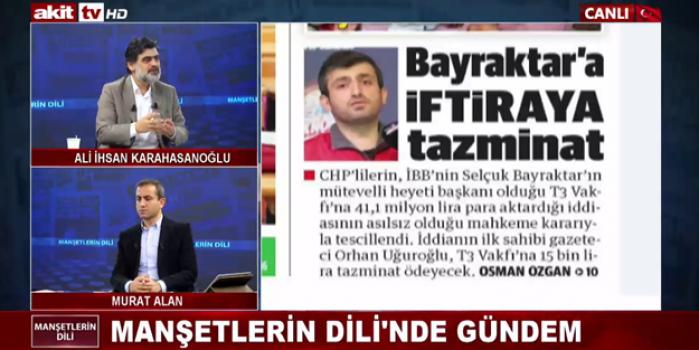 CHP'nin Bayraktar'a iftirasına tazminat!