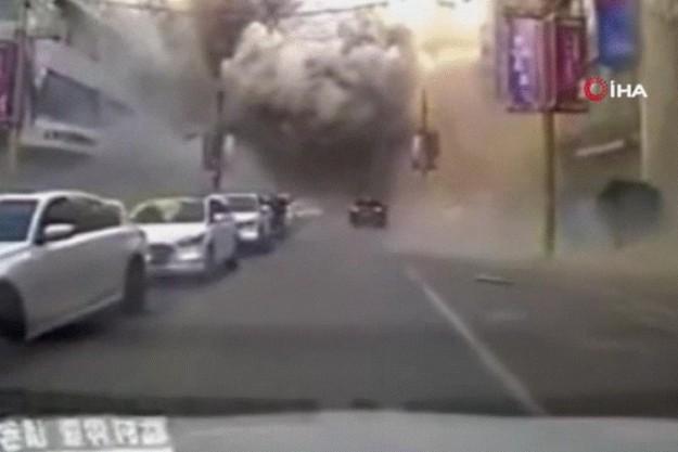 Çin'de restoranda patlama: 3 ölü