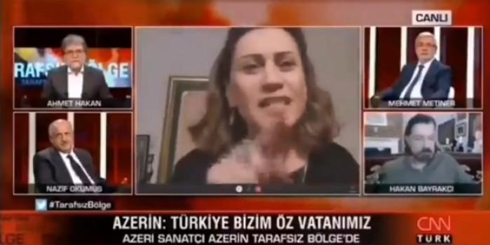 'Çırpınırdı Karadeniz' ile bilinen Azerin'den canlı yayında ayar! Ahmet Hakan ne yapacağını şaşırdı