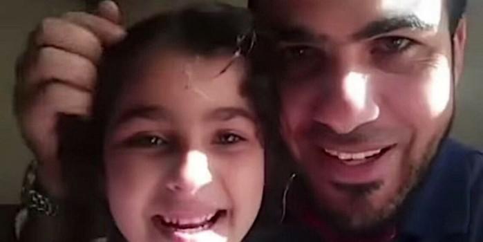 Çocuklarını hava saldırısı korkusundan teskin etmeye çalışmıştı... O baba İsrail saldırısında şehit oldu