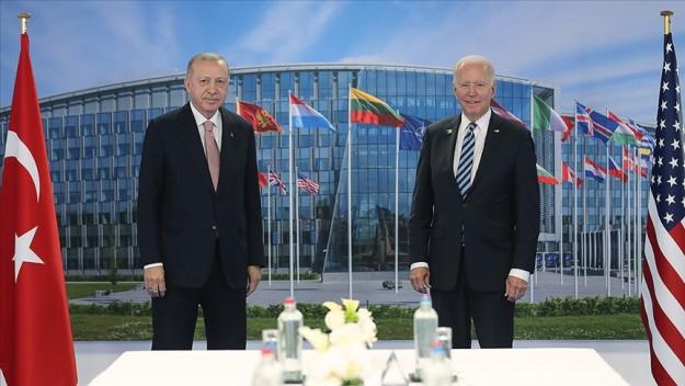 Cumhurbaşkanı Erdoğan ile ABD Başkanı Biden bir araya geldi