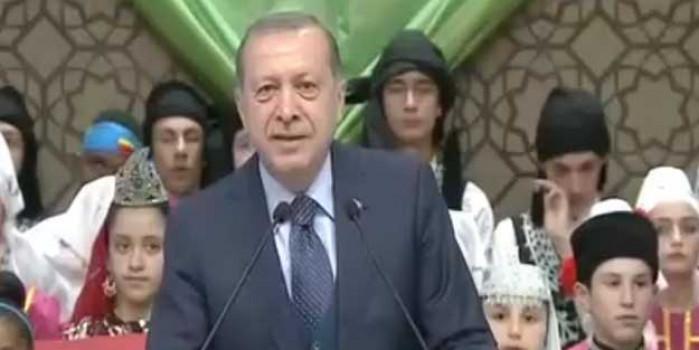 Cumhurbaşkanı Erdoğan, Nazım Hikmet şiiri okudu!