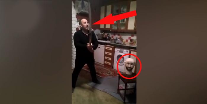 Diriliş: Ertuğrul izlerken Sadettin Köpek'i infaz eden dayı