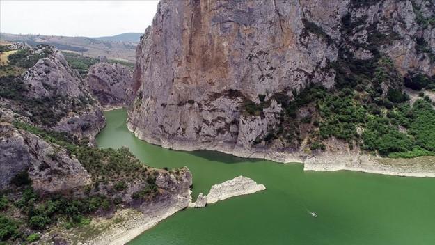 Doğa harikası Kaplancık Kanyonu ziyaretçilerini bekliyor