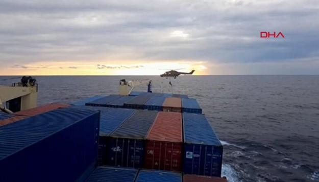 Doğu Akdeniz'de Türk gemisine korsan arama