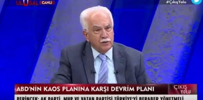 Doğu Perinçek iyice uçtu! Cumhurbaşkanı Erdoğan'a güldüren teklif