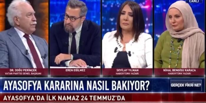 Doğu Perinçek'ten Ayasofya ve Atatürk açıklaması