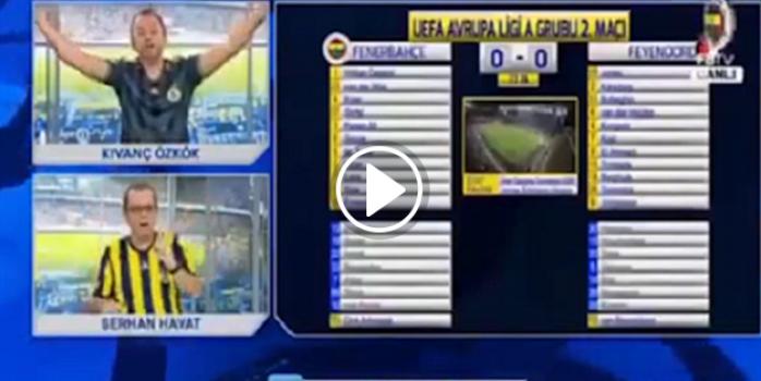 Emenike'nin golü FB TV'yi coşturdu