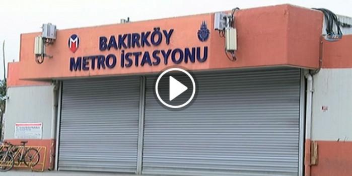 Emniyet alarma geçti! Bakırköy Metro İstasyonu kapatıldı!