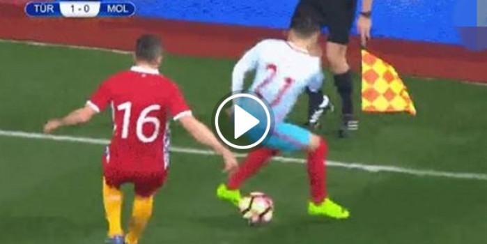 Emre Mor, Moldovalı futbolcunun aklını aldı!