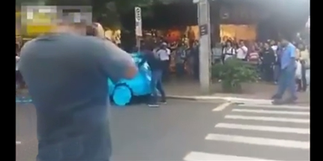 Engellilere ayrılan yere park eden adama bakın ne yaptılar
