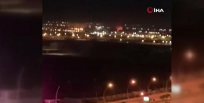 Erbil Uluslararası Havalimanı'na roketli saldırı
