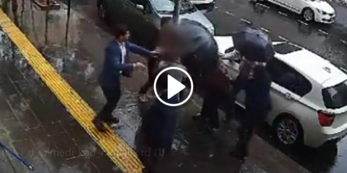Erkekten dayak yiyen adam kadına saldırdı!