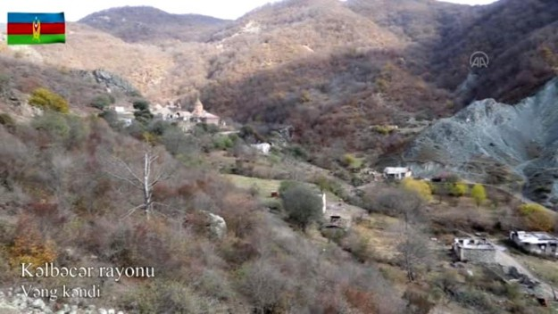 Ermenistan işgalinden kurtulan Kelbecer'den yeni görüntüler