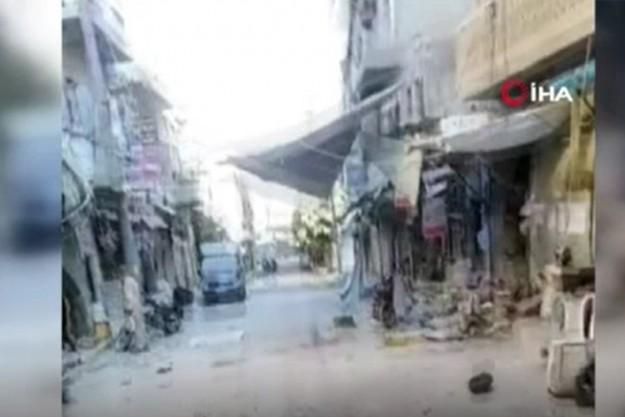 Esad rejimi İdlib'de pazar yerini vurdu!
