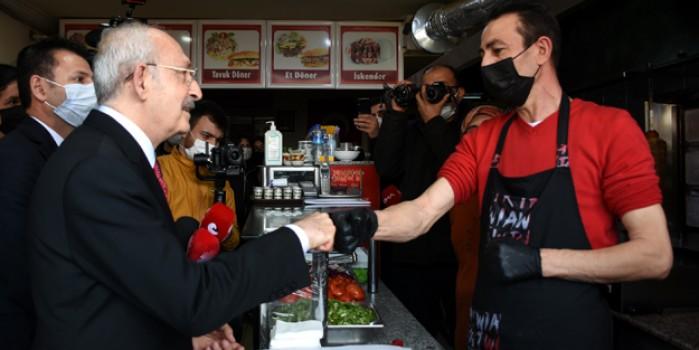 Esnaftan Kemal Kılıçdaroğlu'na: Ağzınızı açmadan yiyin o zaman