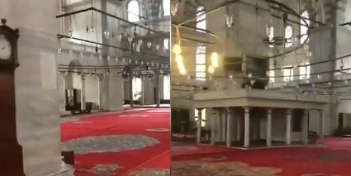 Fatih Camii'ni cemaatsiz gören vatandaştan duygulandıran sözler