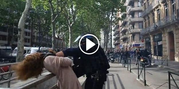 Fransız polisinden eylemcilere orantısız güç!