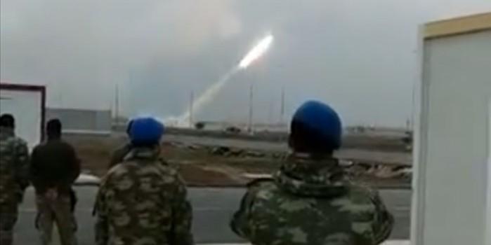 Füzeler ateşlendi! Suriye'de kritik nokta vuruldu