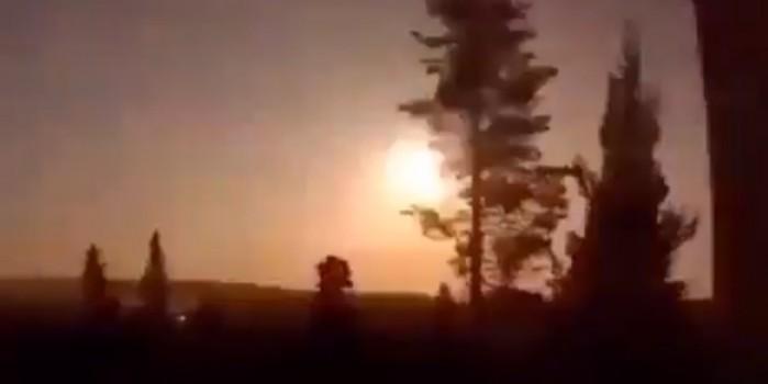 Geceyi gündüze çevirdi! Norveç'e meteor düştü