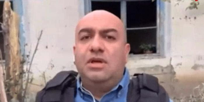 Haber ekipleri çatışmanın detaylarını açıklıyordu! Canlı yayında füze şoku