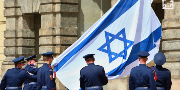 Haçlı zihniyeti yeniden hortladı! AB bayrağı yerine İsrail bayrağı açtılar