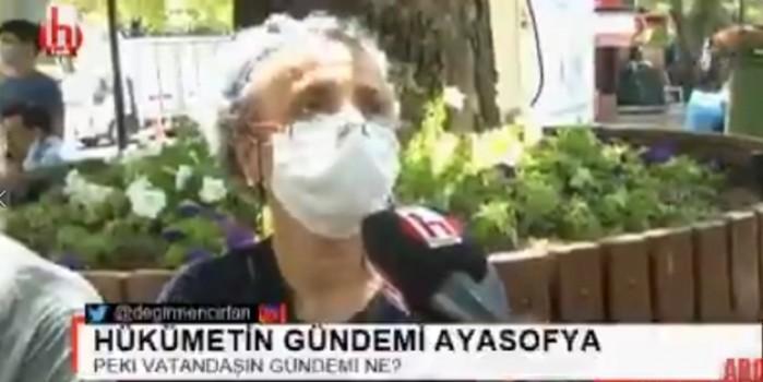 Halk TV'deki 'herkes aç' palavrası alay konusu oldu