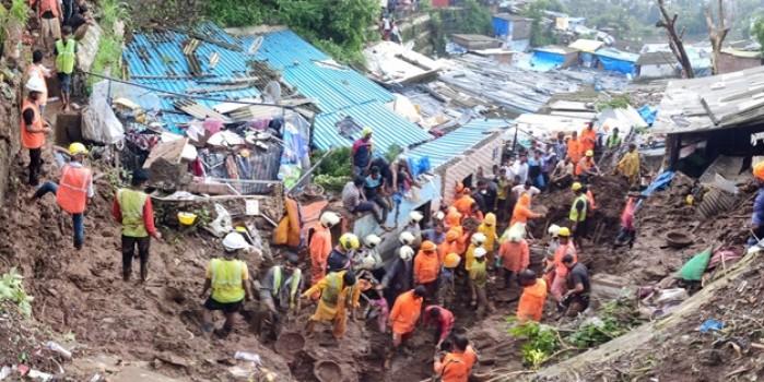 Hindistan dehşeti yaşadı: Sel ve toprak kaymasında 18 kişi hayatını kaybetti