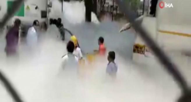 Hindistan'da hastanede oksijen faciası: 22 ölü