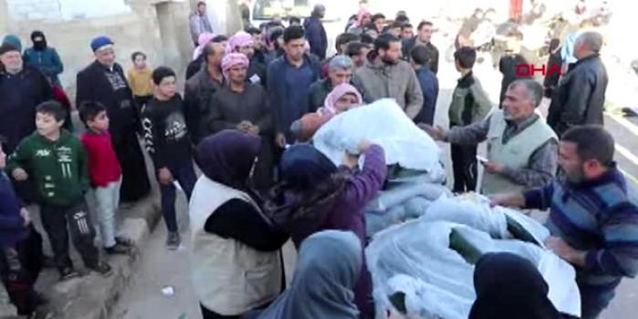 İHH'dan Suriye'deki sığınmacılara kışlık yardımı