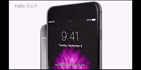 """iPhone'a """"Geri Dönüş Tuşu"""" ekleyen ekran koruyucu"""