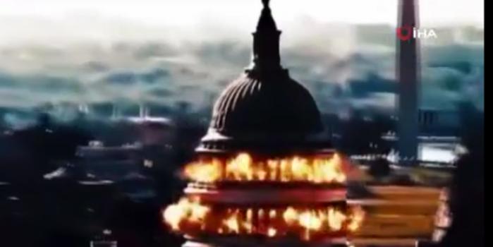 İran, ABD kongre binasının havaya uçurma görüntülerini yayınladı