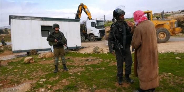 İşgalci İsrail'in konteyner sınıfa bile tahammülü yok