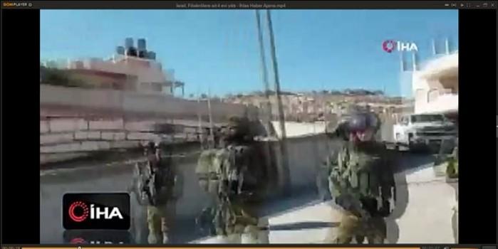 İşgalci siyonist İsrail yine yuva yıktı